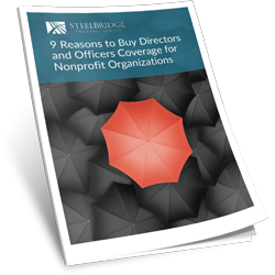 9 REASONS TO BUY DIRECTORS AND OFFICERS COVERAGE FOR NONPROFIT ORGANIZATIONS