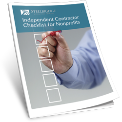 INDEPENDENT CONTRACTOR CHECKLIST FOR NONPROFITS